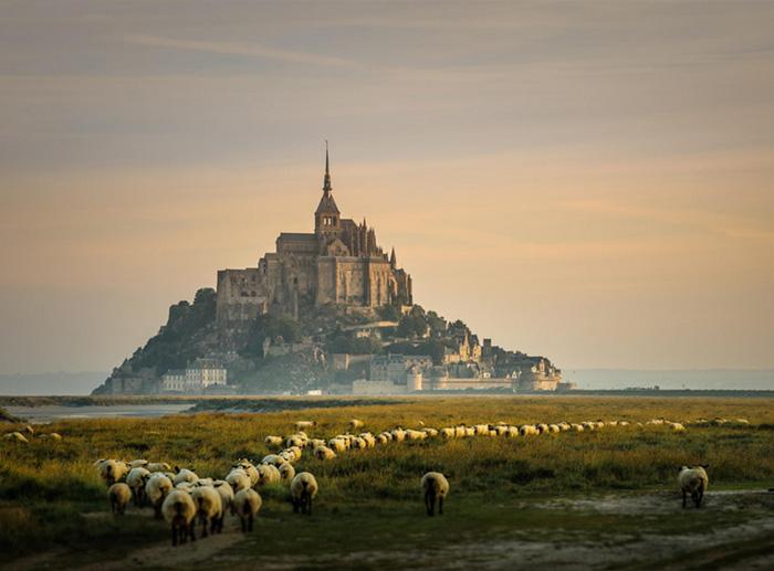 Mont-Saint Michel, France