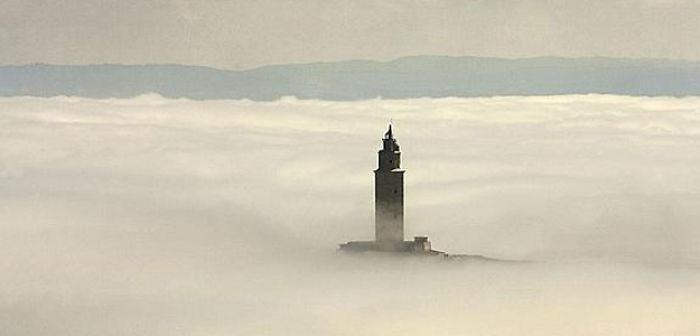 Faro De Hércules (galicia, España)
