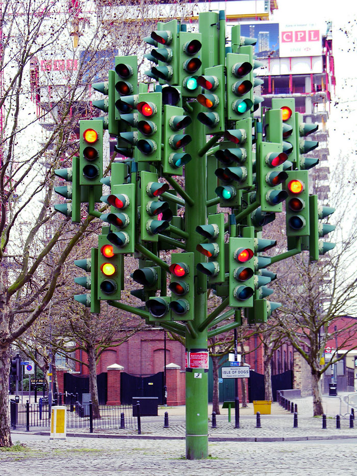 Traffic Lights In London