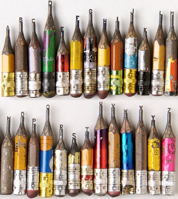 arte en miniatura... Pencil-tip-sculptures-1