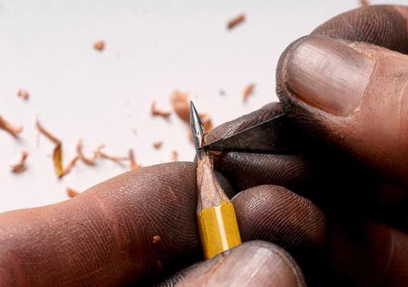 arte en miniatura... Pencil-tip-sculptures-2