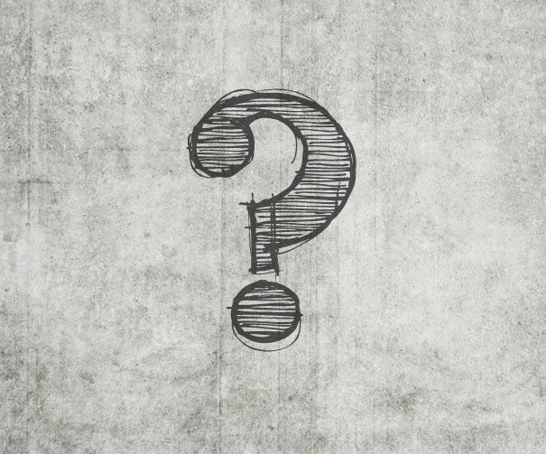 ilustración de un simbolo de interrogación