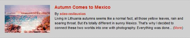 Autumn Comes to Mexico