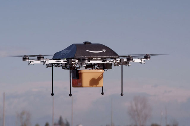Amazon Unveils Flying Robot Drones That Will Deliver In 30 Minutes Or Less [VIDEO]