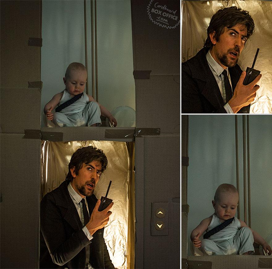 famous-movie-scenes-baby-photography-cardboardboxoffice-5