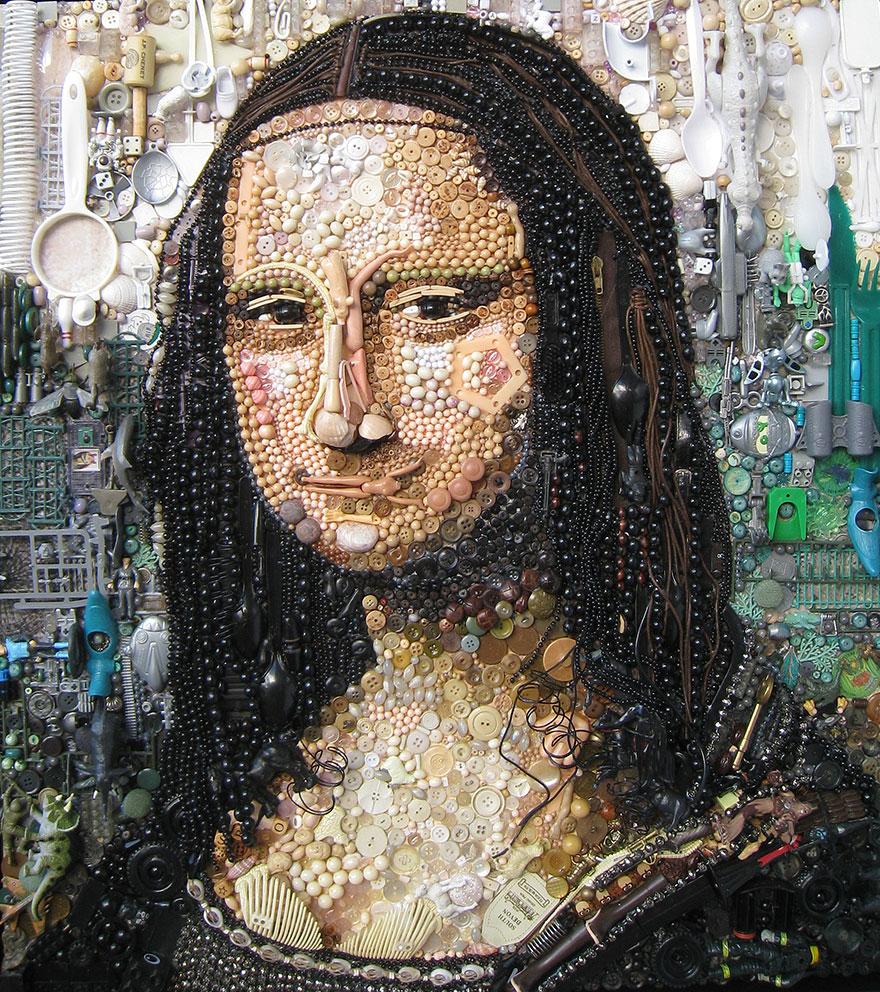 plastic-classics-found-objects-famous-portraits-jane-perkins-1