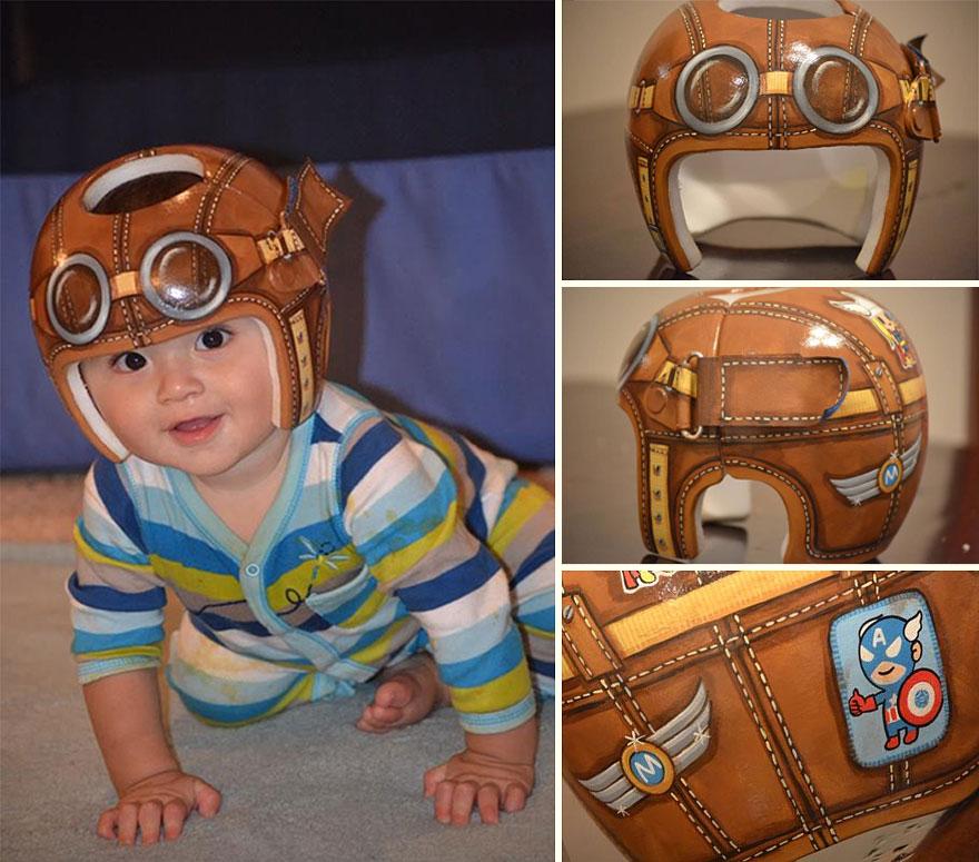 baby-helmet-painting-lazardo-art-100