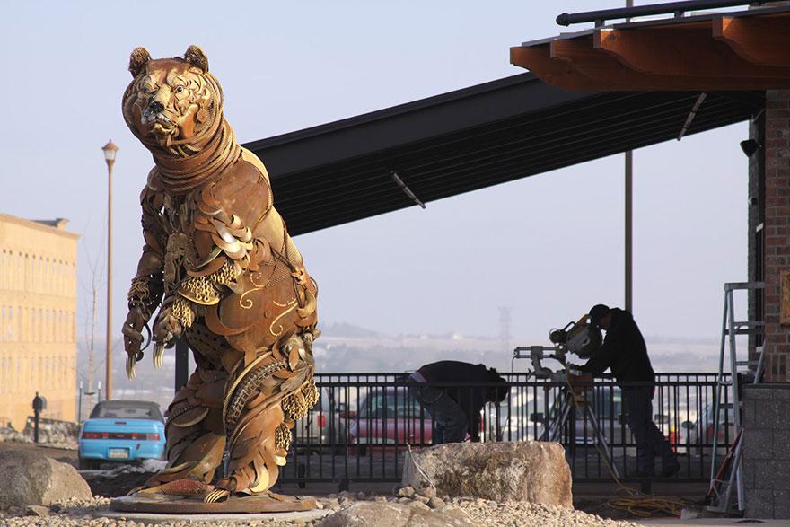 -chatarra soldada de metal-esculturas-john-lopez-10