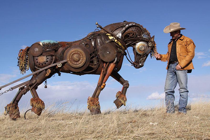 -chatarra soldada de metal-esculturas-john-lopez-21