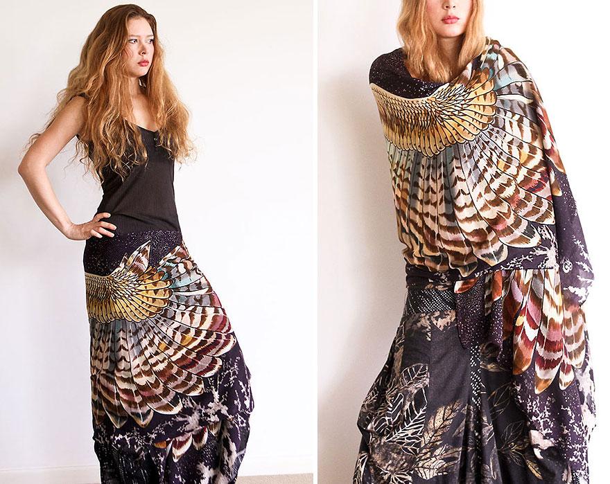 bird-scarves-wings-feather-fashion-design-shovava-10