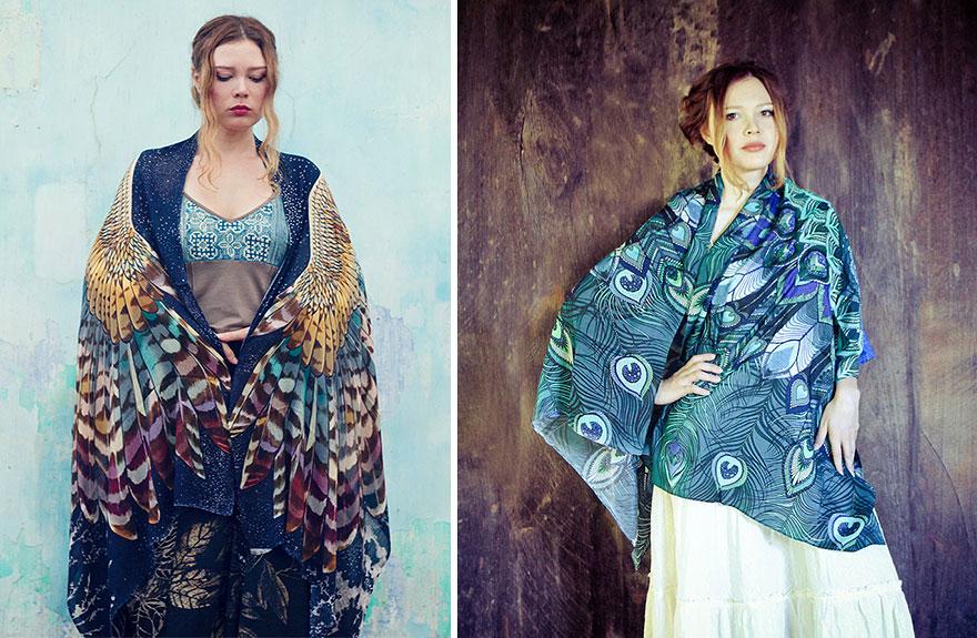 bird-scarves-wings-feather-fashion-design-shovava-12