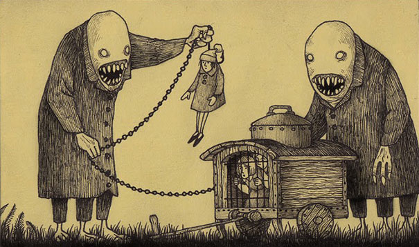 creepy-monsters-sticky-notes-drawings-don-kenn-18