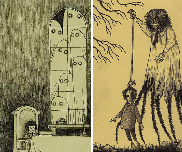 creepy-monsters-sticky-notes-drawings-don-kenn-4