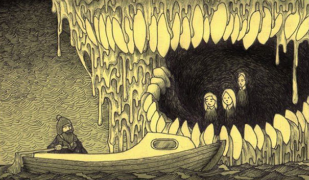 creepy-monsters-sticky-notes-drawings-don-kenn-6