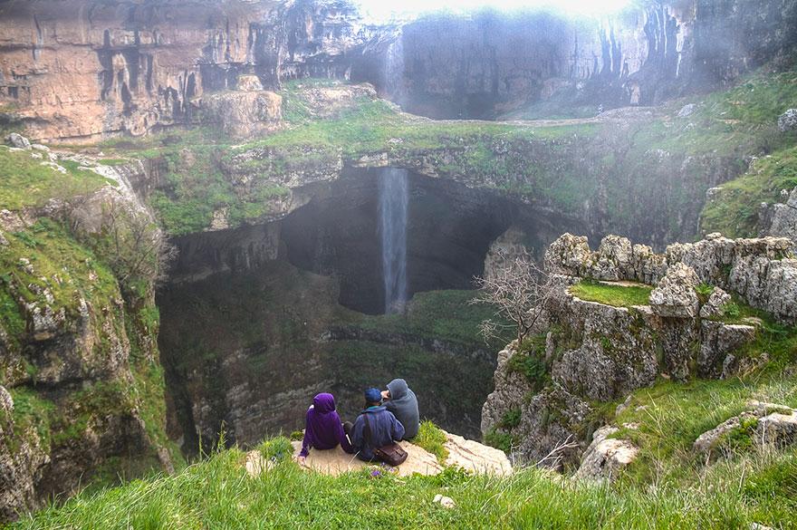 tres puentes-cueva-baatara-garganta-cascada-líbano-12