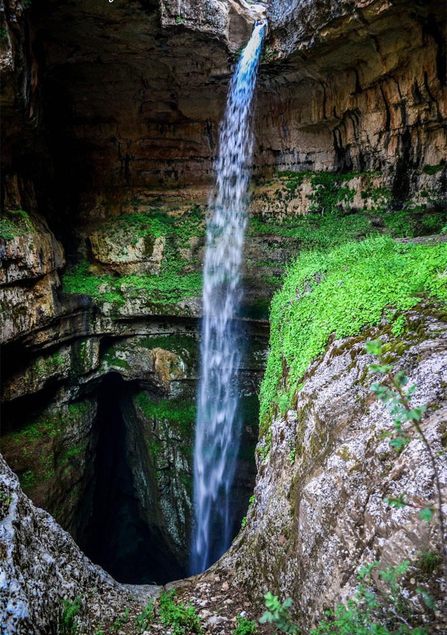tres puentes-cueva-baatara-garganta-cascada-líbano-9
