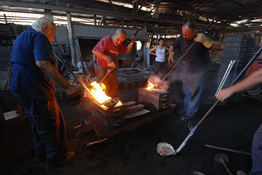 wood casting aluminum furniture hilla shamia 12 تصاميم اثاث و ديكورات من الخشب والالومنيوم معا, صور