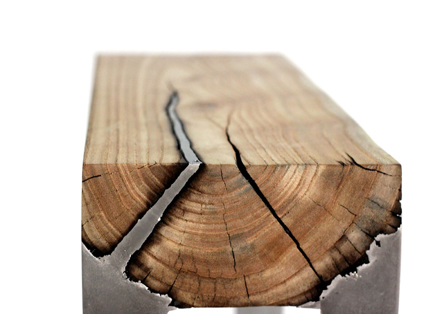 wood casting aluminum furniture hilla shamia 4 تصاميم اثاث و ديكورات من الخشب والالومنيوم معا, صور