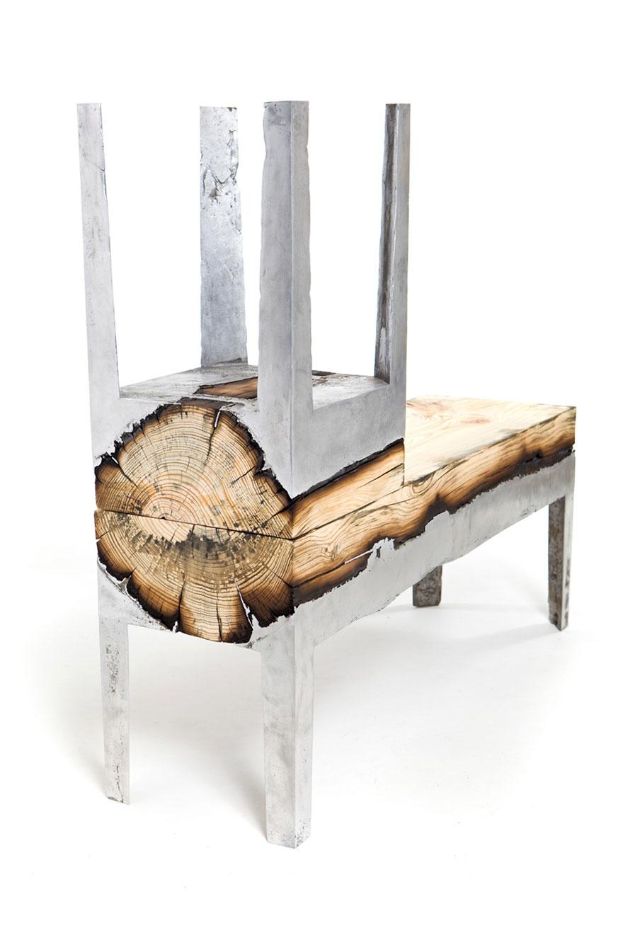 wood casting aluminum furniture hilla shamia 7 تصاميم اثاث و ديكورات من الخشب والالومنيوم معا, صور