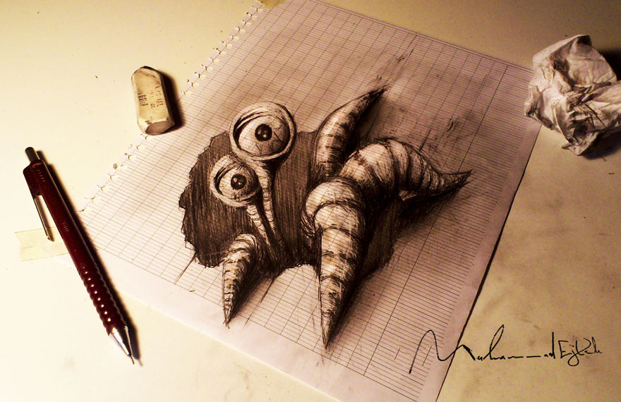 3d- pencil-drawings-11