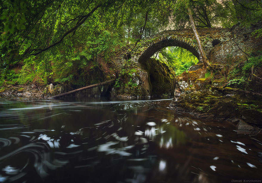 Hermitage Bridge, Scotland
