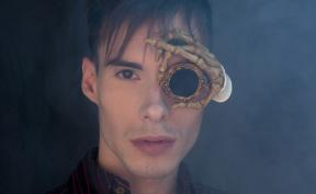 I Make Monocles That Look Like Metal And Bone, But Are Actually Made Of Light And Flexible Latex