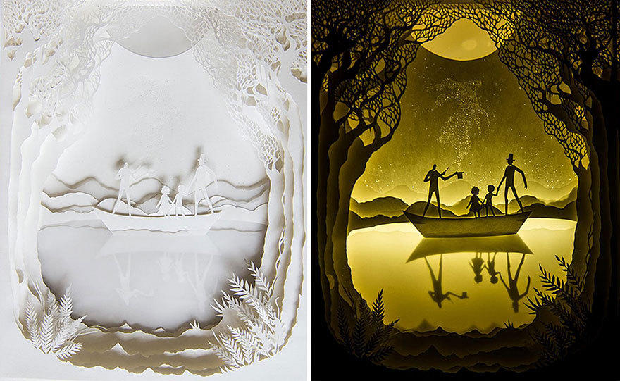 backlit-paper-sculptures-shadow-art-hari-deepti-18