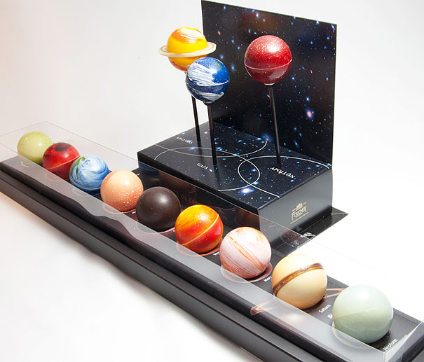 Chocolate Truffle Planets