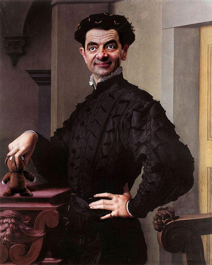 mr-bean-történelmi portrék-Rodney-csuka-24