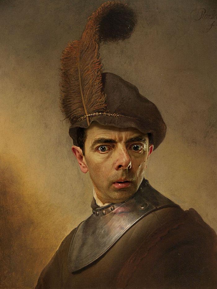 mr-bean-történelmi portrék-Rodney-csuka-27