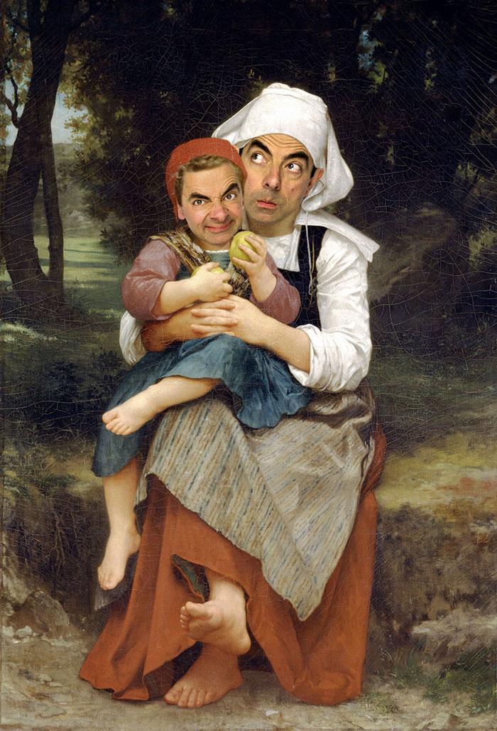 mr-bean-történelmi portrék-Rodney-csuka-29