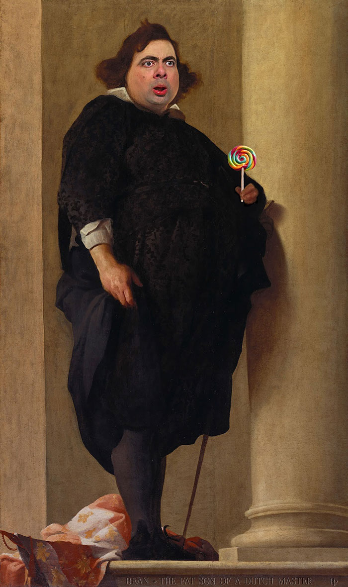 mr-bean-történelmi portrék-Rodney-csuka-30