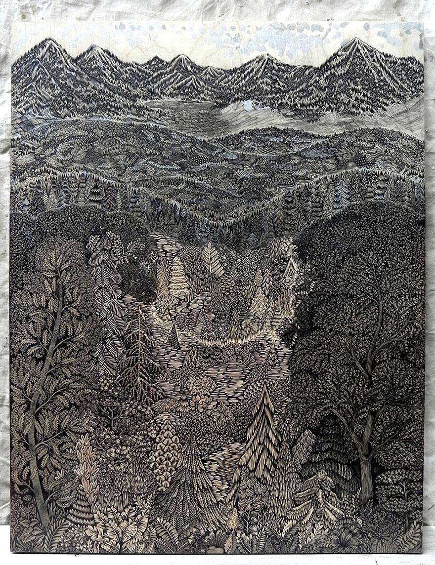 alto-grabado en madera-print-paul-Roden-valerie-Lueth-1