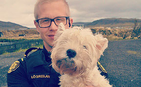 The Reykjavik Police Have An Instagram Full Of Puppies, Kittens And Ice Cream