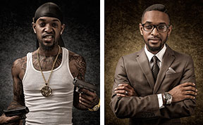 Judging America: Photographer Challenges Our Prejudice By Alternating Between Judgment and Reality