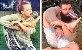 Bearded Dude Recreates Women's Dating Selfies On Tinder