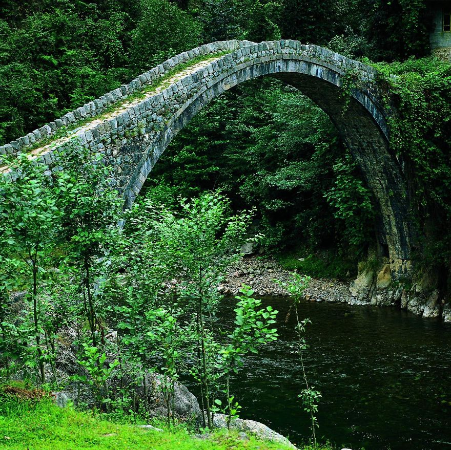 Kemer Bridge, Rize, Turkey