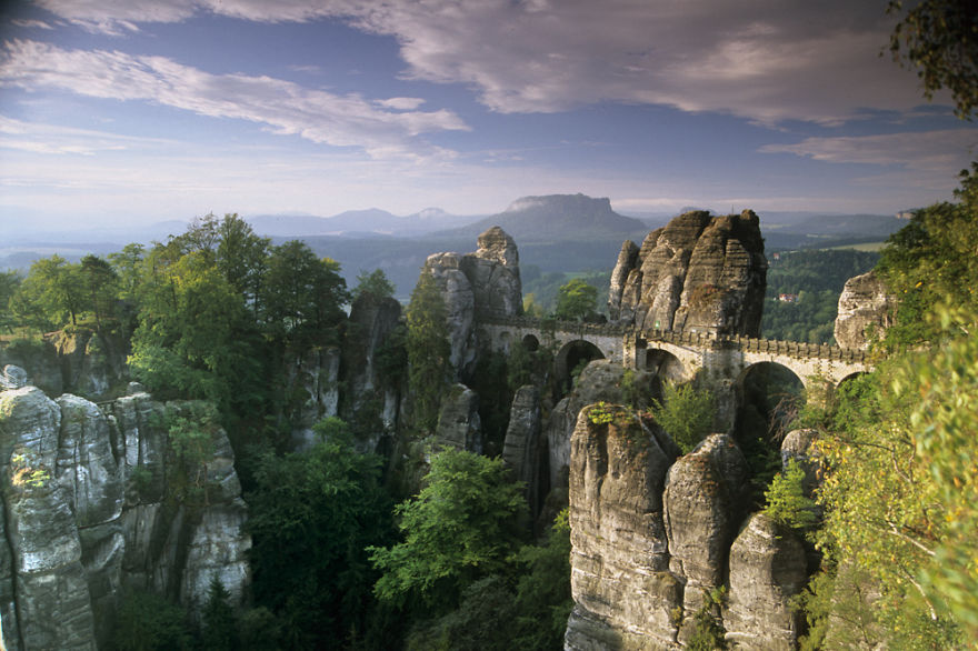 Basteibrücke, Saxon Switzerland, Germany