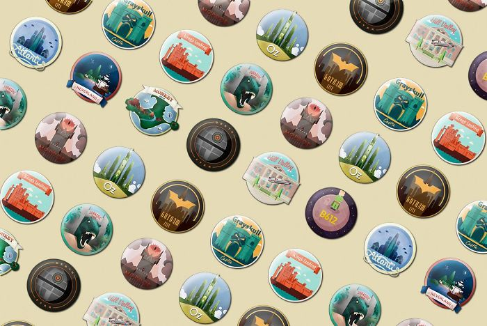 Impossible Magnets: A Lovely Collection Of Souvenirs From Places You'll Never Visit.