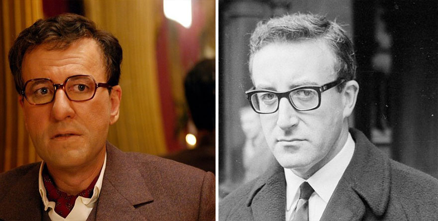 Geoffrey Rush as Peter Sellers in The Life and Death of Peter Sellers