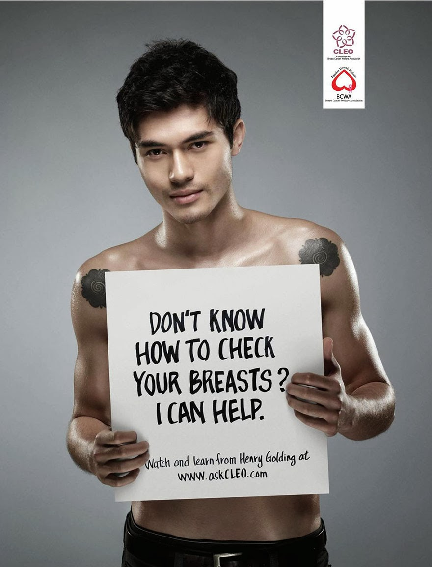 Cleo Magazine Against Breast Male Advertisements In Magazines