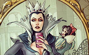 If Disney Characters Took Selfies