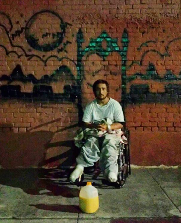 http://www.boredpanda.com/blog/wp-content/uploads/2014/10/homeless-man-art-interactive-1.jpg