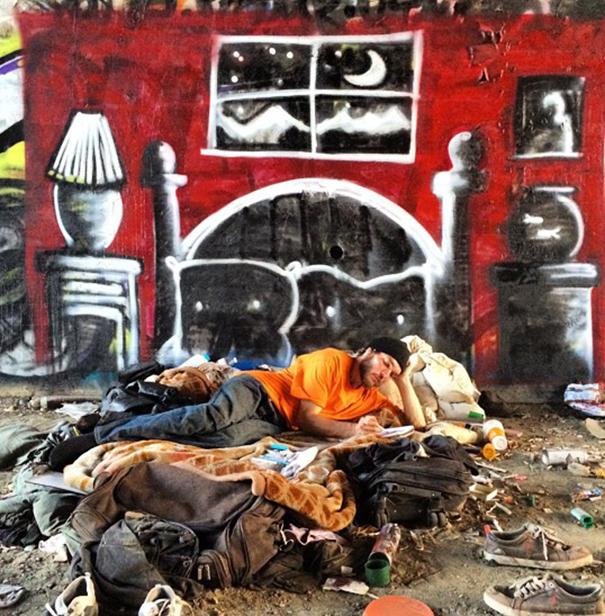 http://www.boredpanda.com/blog/wp-content/uploads/2014/10/homeless-man-art-interactive-9.jpg