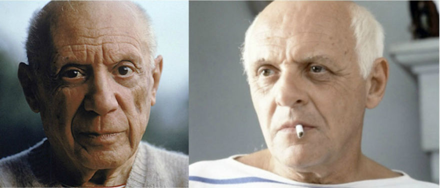 Anthony Hopkins As Picasso In Surviving Picasso (1996)
