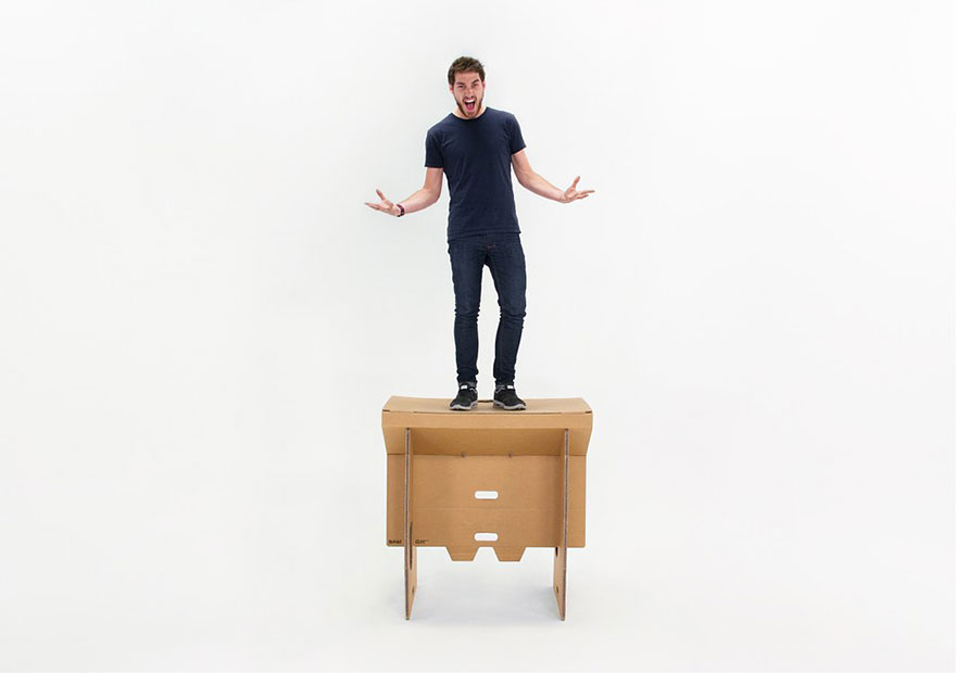 mesa portátil de papelão-4