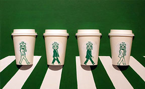 Illustrator Doodles On Starbucks Cups To Turn Mermaid Into Various Characters