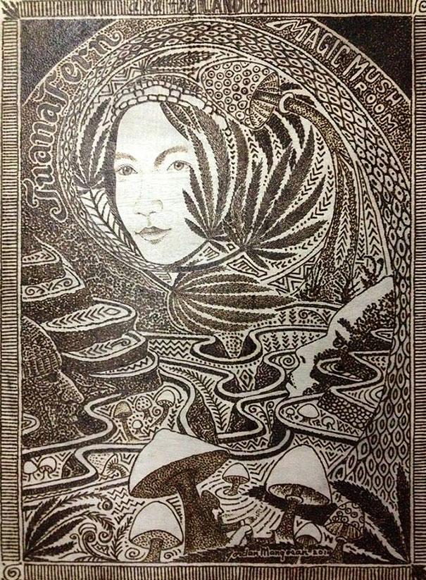 luz solar-desenho-pirogravura-art-jordan-mang-osan-2