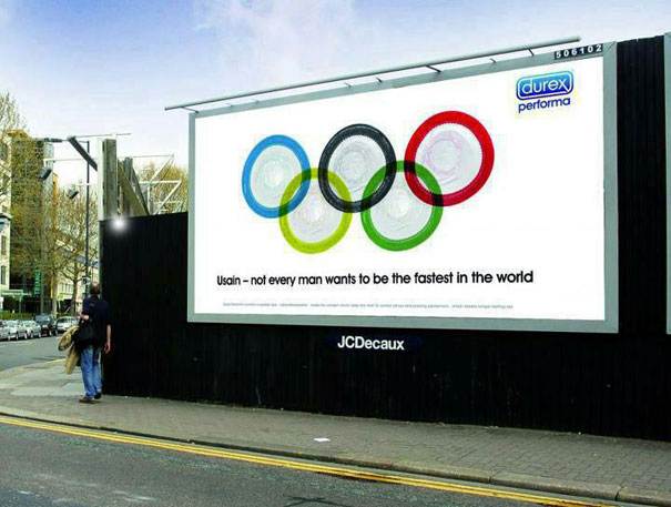 Olympic themed Ad: Durex  Advertisement