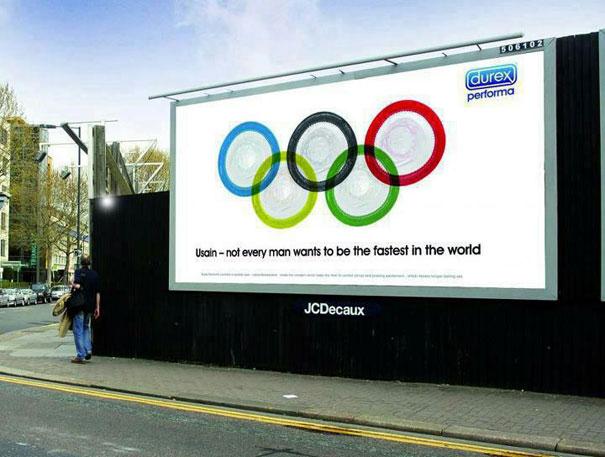 Olympic themed Ad: Durex  Advertisement